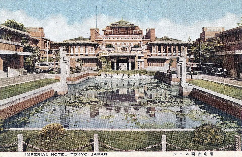 (Imperial Hotel 1922-1967)-KTS Frank Lloy'd Wright