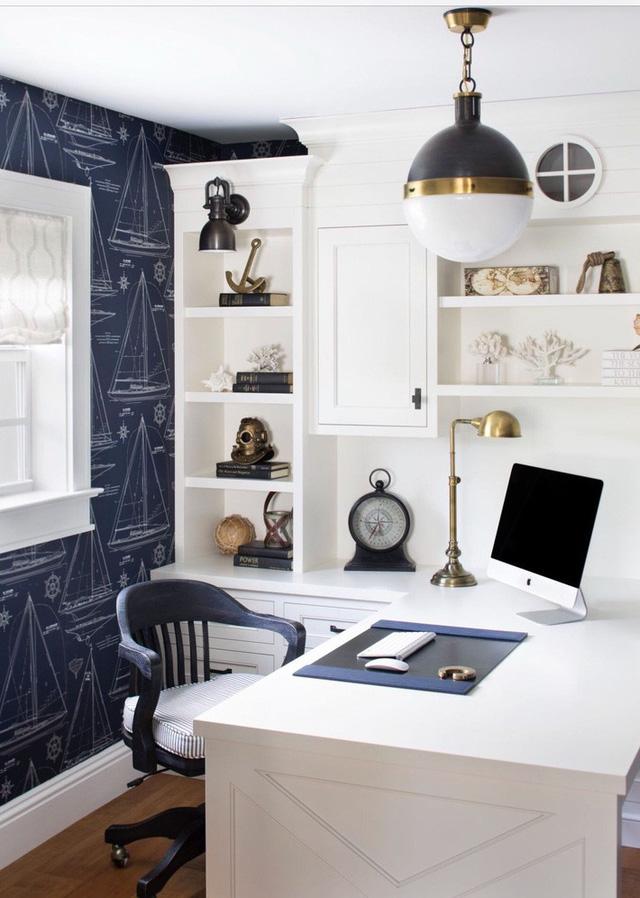 Bạn có thể lựa chọn kiểu đèn hình cầu cho phòng làm việc tại nhà, phòng ngủ, phòng bếp và cả phòng khách của gia đình