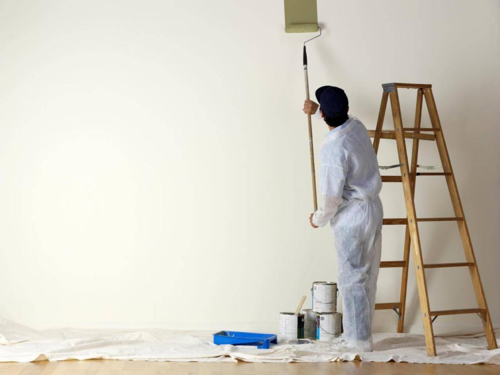 Sơn vôi là một trong ba loại sơn chính trên thị trường hiện nay