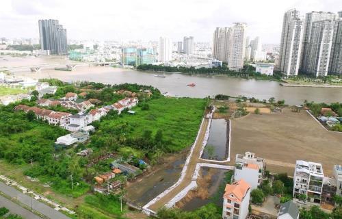 Một góc Khu đô thị mới Thủ Thiêm. Ảnh: Quang Nhựt/TTXVN