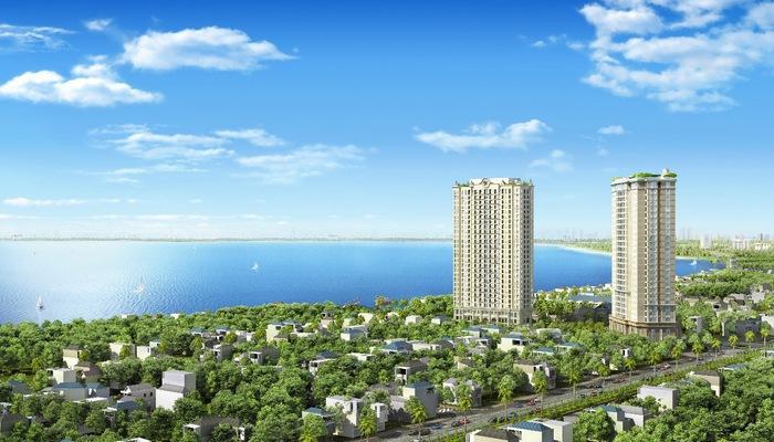 D'. El Dorado I - dự án sở hữu các căn hộ Dual Key kế bên hồ Tây