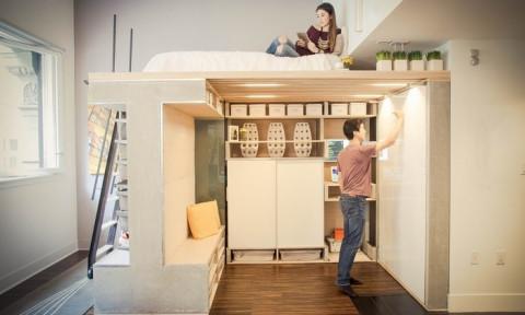 7 ý tưởng tuyệt vời để tiết kiệm không gian trong căn hộ nhỏ