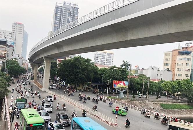 Đường sắt đô thị Nhổn – ga Hà Nội sẽ khai thác vào tháng 4/2021