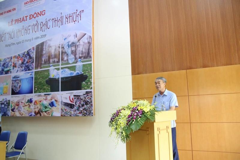 Ông Vũ Văn Thuần - Thành uỷ viên, Phó Chủ tịch UBND thành phố Hưng Yên phát biể