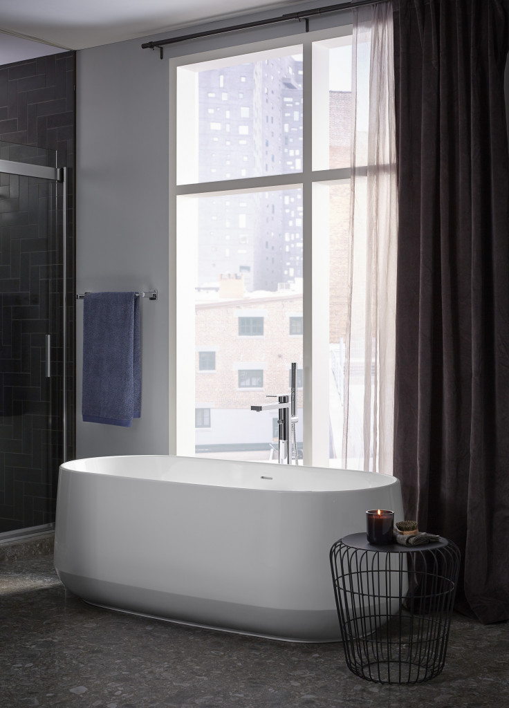 Bộ sen và vòi bồn tắm gắn thành bồn Parallel