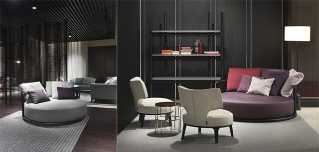 Chiếc ghế có tên Icaro này được thiết kế bởi Roberto Lazzeroni, là một chiếc ghế sofa thời trang. Chiếc ghế có khung gỗ hình ống có thể nhìn thấy đường viền mềm mại và tạo thành một điểm tựa lưng thoải mái.