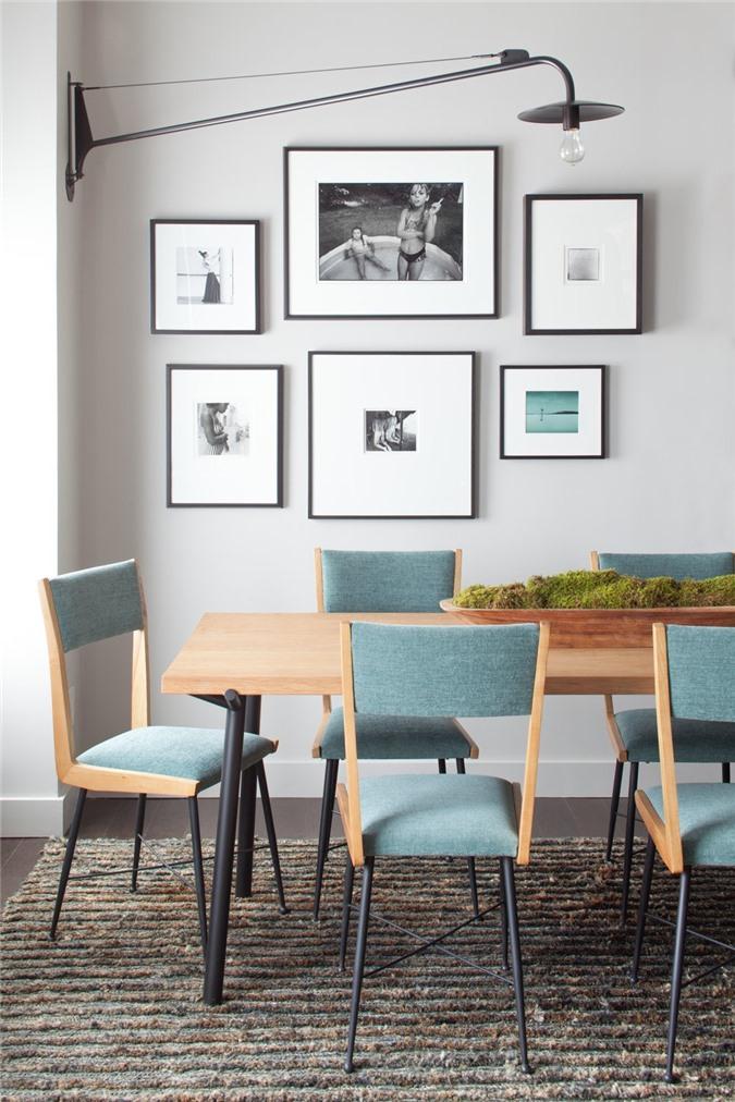 Chậu cây xanh độc đáo đầy ấn tượng cho căn phòng ăn gia đình