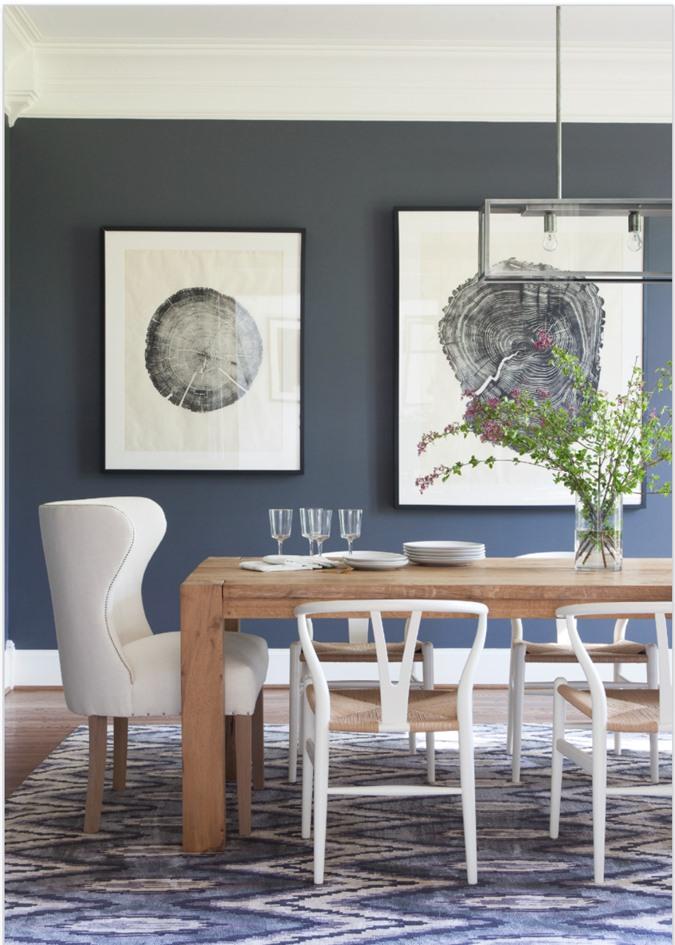 Để có được một căn phòng ăn gợi cảm giác gần gũi, thân thiện với thiên nhiên bạn có rất nhiều cách