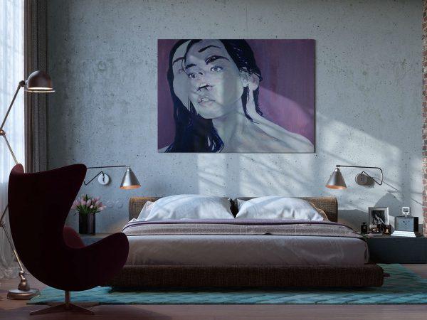 Hoặc là một vật trang trí, bổ sung phong cách cho phòng ngủ.