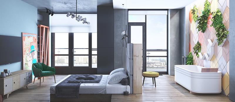 Phòng ngủ của một cô gái luôn có sự gọn gàng và tinh tế