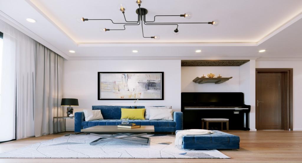 Một màu rèm cửa khác biệt hay một chiếc sofa mới có thể khiến không gian sống của bạn trở nên mới mẻ