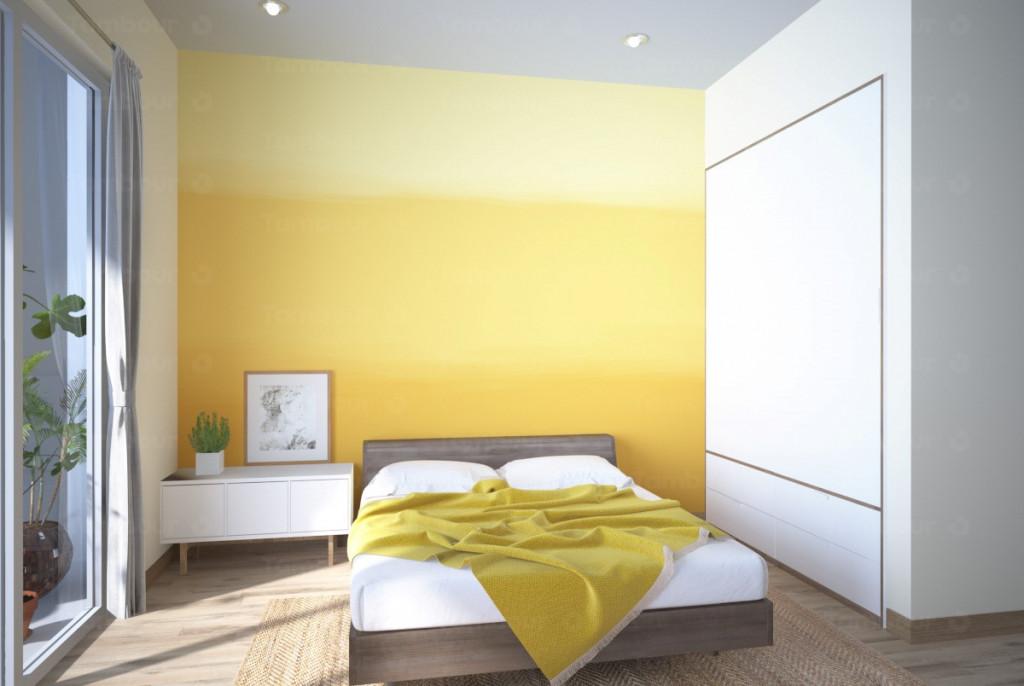 Đừng ngần ngại thử một màu sơn mới bởi chúng có thể tạo ra hiệu quả bất ngờ
