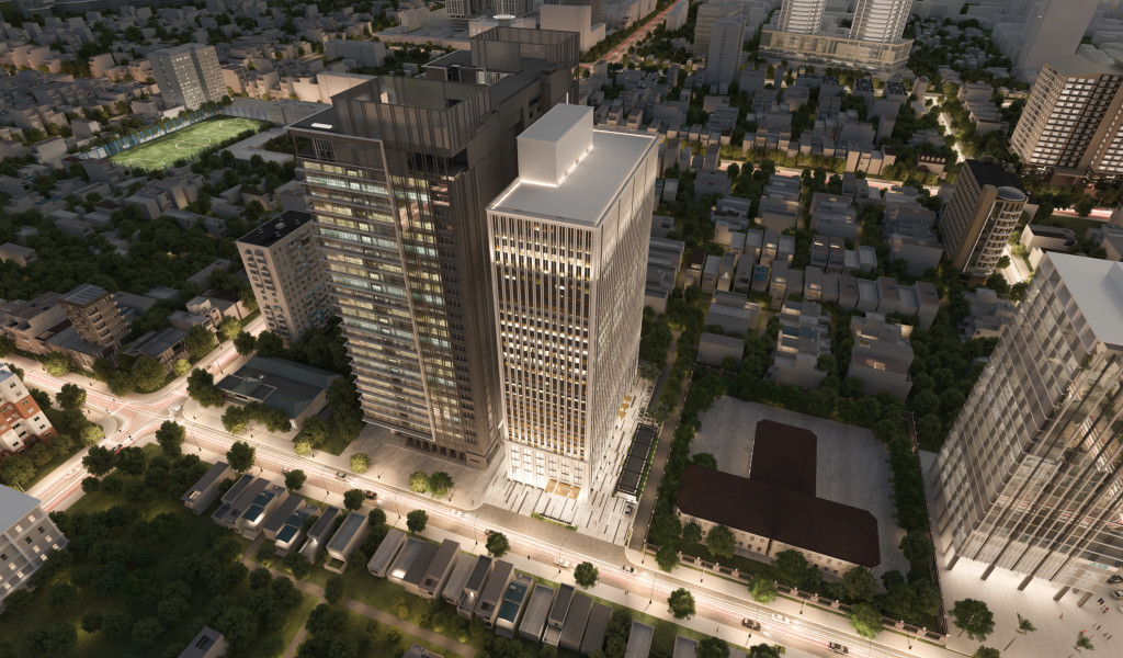Tòa nhà LIM TOWER 3 tọa lạc trên đường Nguyễn Đình Chiểu, Quận 1