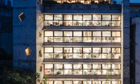 Tòa nhà văn phòng The Bridge/Kiến trúc & quy hoạch đô thị G8A