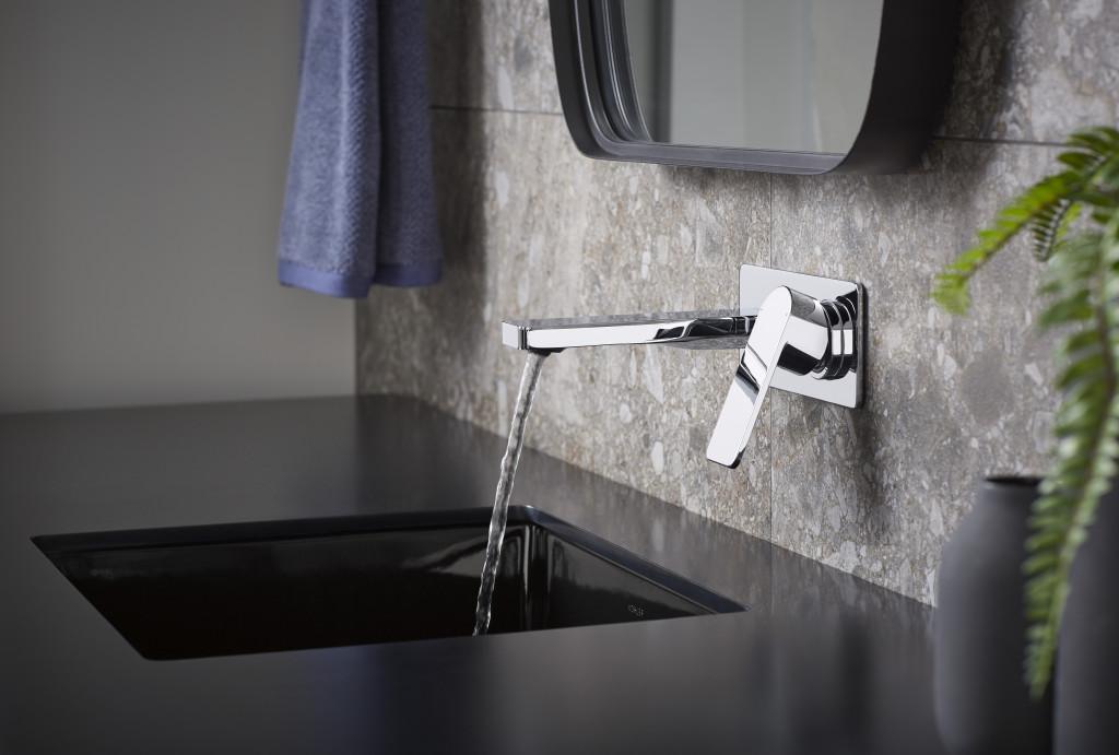 Vòi chậu rửa gắn tường Parallel
