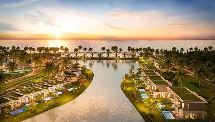 79 căn biệt thự nghỉ dưỡng Luxe Villas như 79 viên ngọc quý bên bờ đại dương
