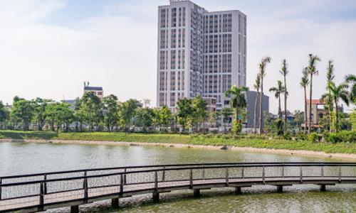Một dự án chung cư tại Bắc Giang. Ảnh: CĐT