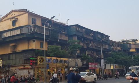 Đã có ý tưởng quy hoạch 15/20 chung cư cũ tại Hà Nội