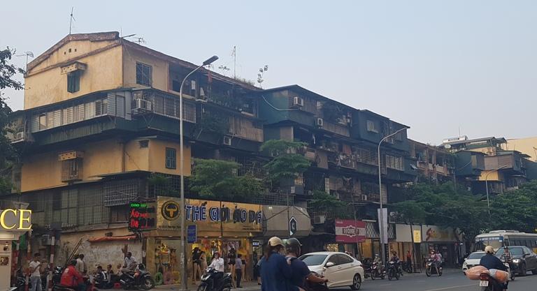 Nhà chung cư cũ A2 Trung Tự