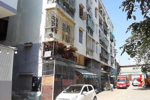 TPHCM kiến nghị phá dỡ khẩn cấp chung cư bị nghiêng