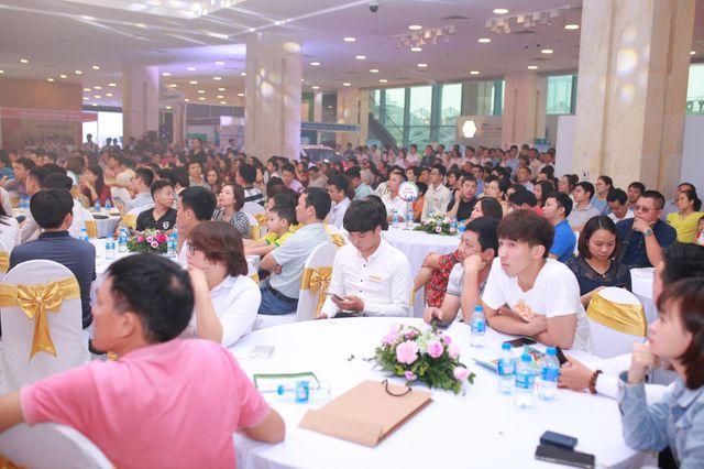 Sự kiện Lễ hội Bất động sản Hải Phát Land lần thứ nhất được tổ chức tháng 04/2019 đã thu hút hàng ngàn khách hàng tham dự.