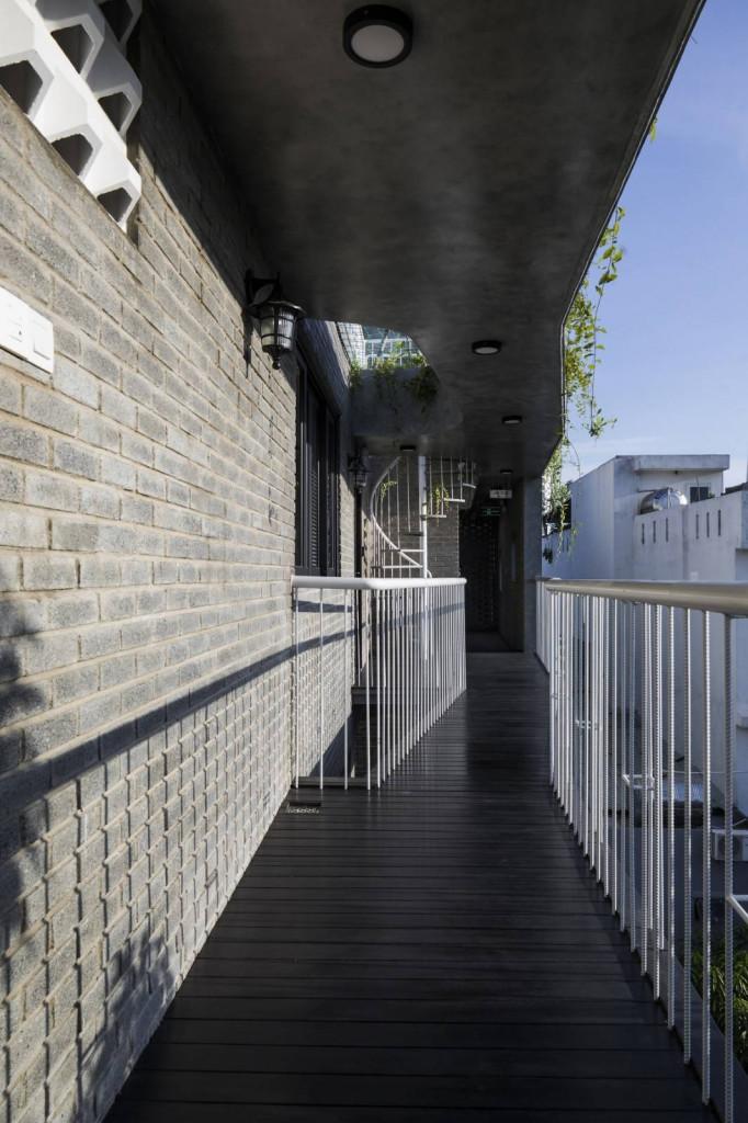 Gạch không nung là giải pháp thân thiện với môi trường và tạo cảm giác mát hơn cho công trình