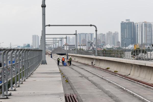 Dự án metro số 1 Bến Thành - Suối Tiên. Ảnh: TL
