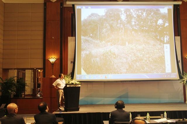 Đại diện Cty Osasi Technos đã giới thiệu hệ thống giám sát phòng chống thiên tai