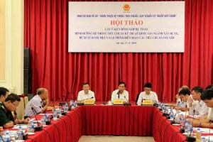 Hội thảo góp ý kiến cho Dự thảo Định hướng hệ thống tiêu chuẩn kỹ thuật quốc gia ngành Xây dựng
