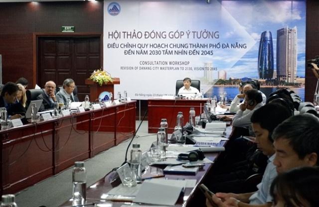 Hội thảo đóng góp ý tưởng dự án Điều chỉnh Quy hoạch chung thành phố Đà Nẵng đến năm 2030, tầm nhìn đến năm 2045
