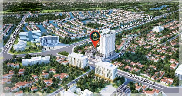 Liên kết vùng thuận tiện của dự án Lotus Long Biên