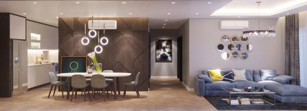 Lotus Long Biêncung cấp những căn hộ trang bị đầy đủ nội thất smarthome 4.0
