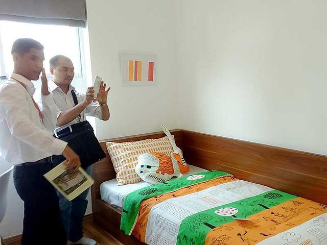 Giá căn hộ cho thuê đang có xu hướng giảm. Ảnh: QUANG HUY