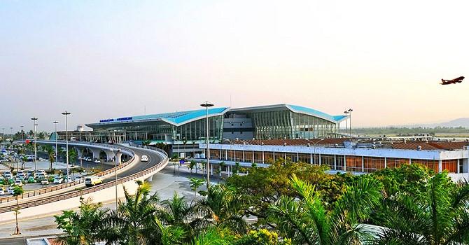 Cảng hàng không quốc tế Đà Nẵng. Ảnh: Internet