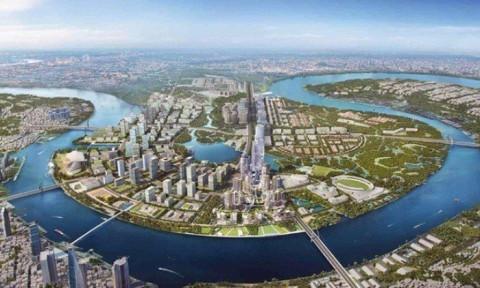 TPHCM chi 603 tỷ đồng xây 6 tuyến đường ở khu đô thị mới Thủ Thiêm