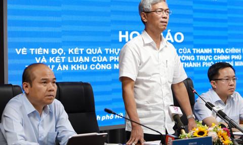 TPHCM công bố tiến độ giải quyết 'điểm nóng' khu công nghệ cao