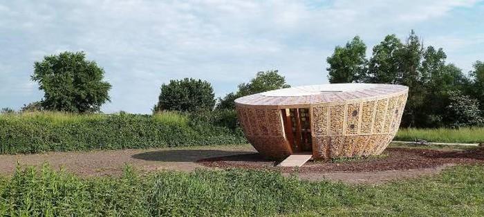 Pavilion sinh thái / Kiến trúc StAndré-Lang
