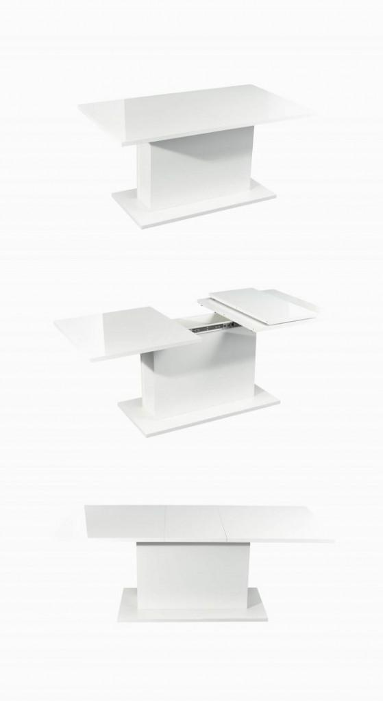 Chiếc bàn này có thể trở nên rộng, dài hơn chỉ trong nháy mắt, tùy theo nhu cầu sử dụng của gia chủ