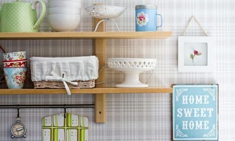 14 ý tưởng sáng tạo trang trí phòng bếp bằng giấy dán tường ấn tượng