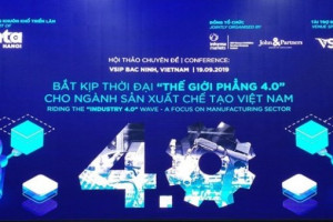 Thế giới phẳng 4.0: Lợi thế cạnh tranh cho DN sản xuất chế tạo VN