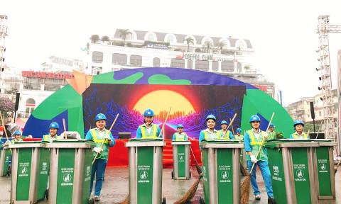 Giải pháp nâng cao chất lượng thu gom , vận chuyển rác thải đô thị