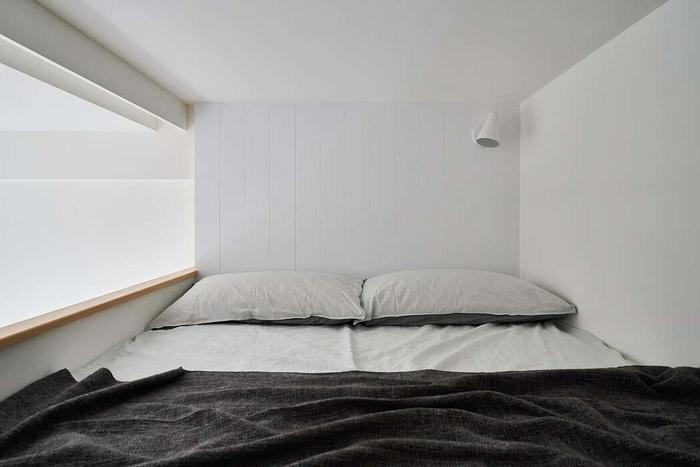 Đây là không gian riêng tư và ấm cúng dành riêng cho vợ chồng mới cưới.