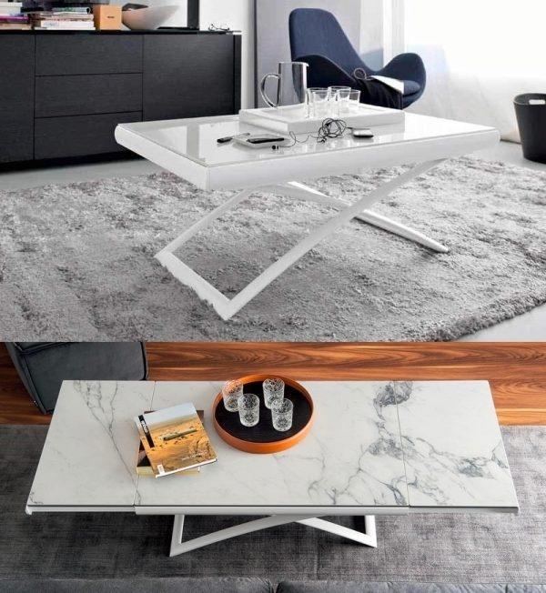 Đây có thể vừa là bàn khách, vừa có thể là bàn uống nước trong ngôi nhà nhỏ của bạn