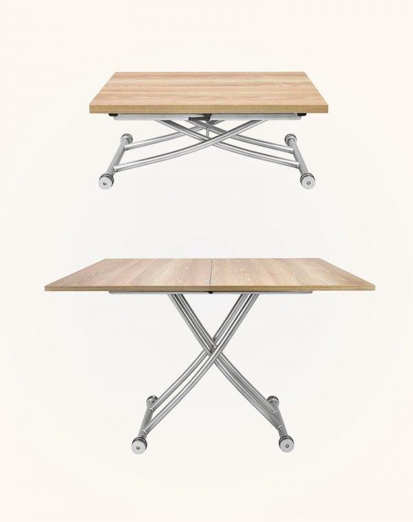 Bạn thậm chí có thể điều chỉnh chiều cao của chiếc bàn này theo ý muốn
