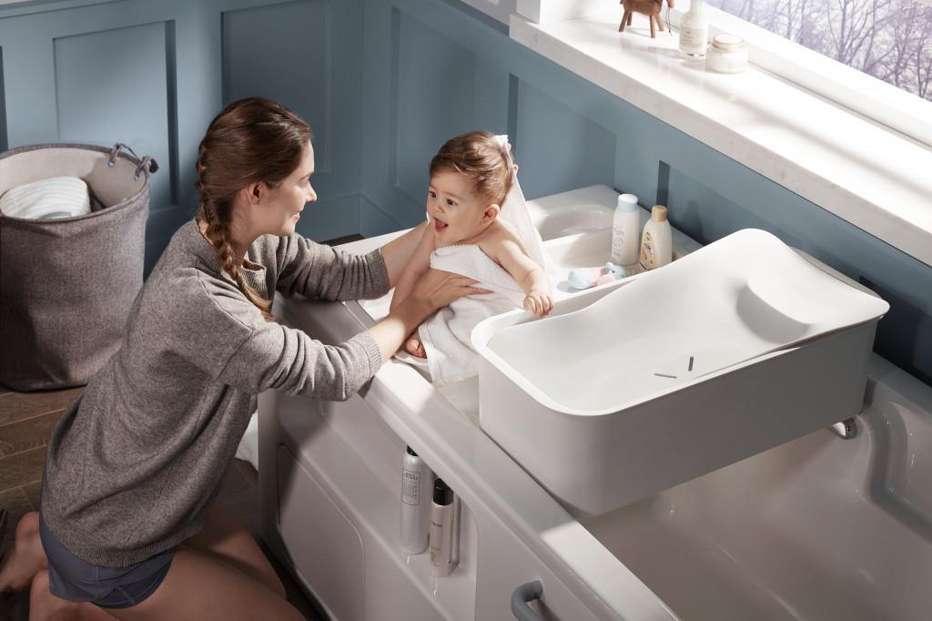 Bồn tắm Aleutian 2.0 đi kèm phụ kiện chậu tắm dành cho bé sơ sinh từ 0-9 tháng tuổi (2)