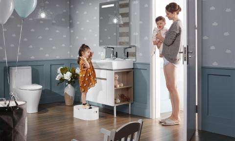 KOHLER giới thiệu Bộ sưu tập phòng tắm Family Care – Giải pháp toàn diện và thân thiện môi trường cho gia đình bạn