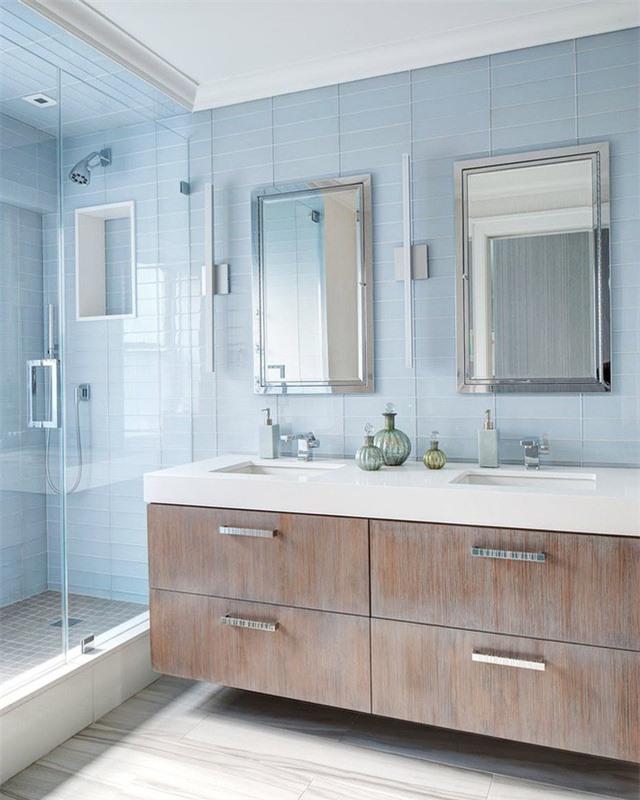 Một thiết kế phòng tắm dễ dàng khiến người dùng quên đi mọi mệt mỏi, căng thẳng trong ngày