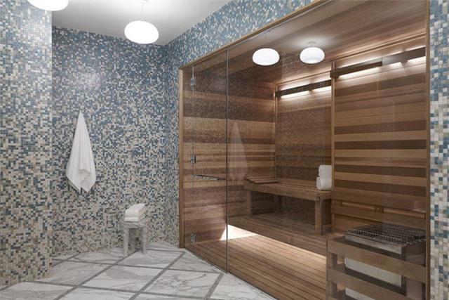Cách sử dụng gạch ốp tường độc đáo mang đến cho căn phòng tắm gia đình ấn tượng khó quên
