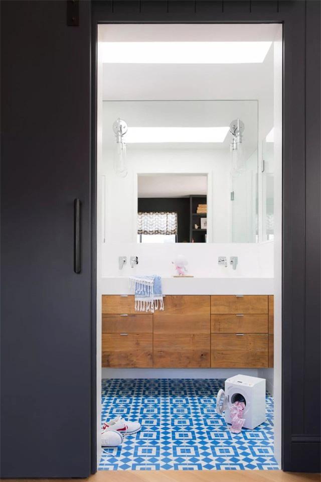 Sắc xanh tươi sáng mang đến nét đẹp vô cùng hiện đại, trẻ trung cho căn phòng