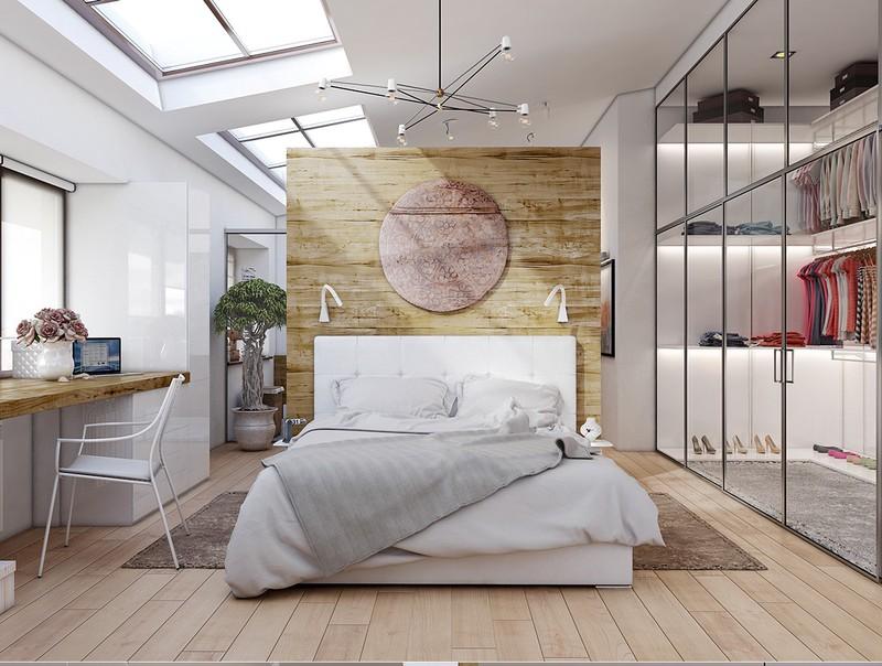 Với cửa tủ quần áo bằng kính trong suốt và một số dải ánh sáng được đặt dọc theo kệ, bạn có thể tạo ra cửa hàng thời trang sang trọng ngay trong nhà của mình